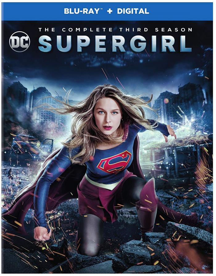 Supergirl Season 3 on Blu ray
