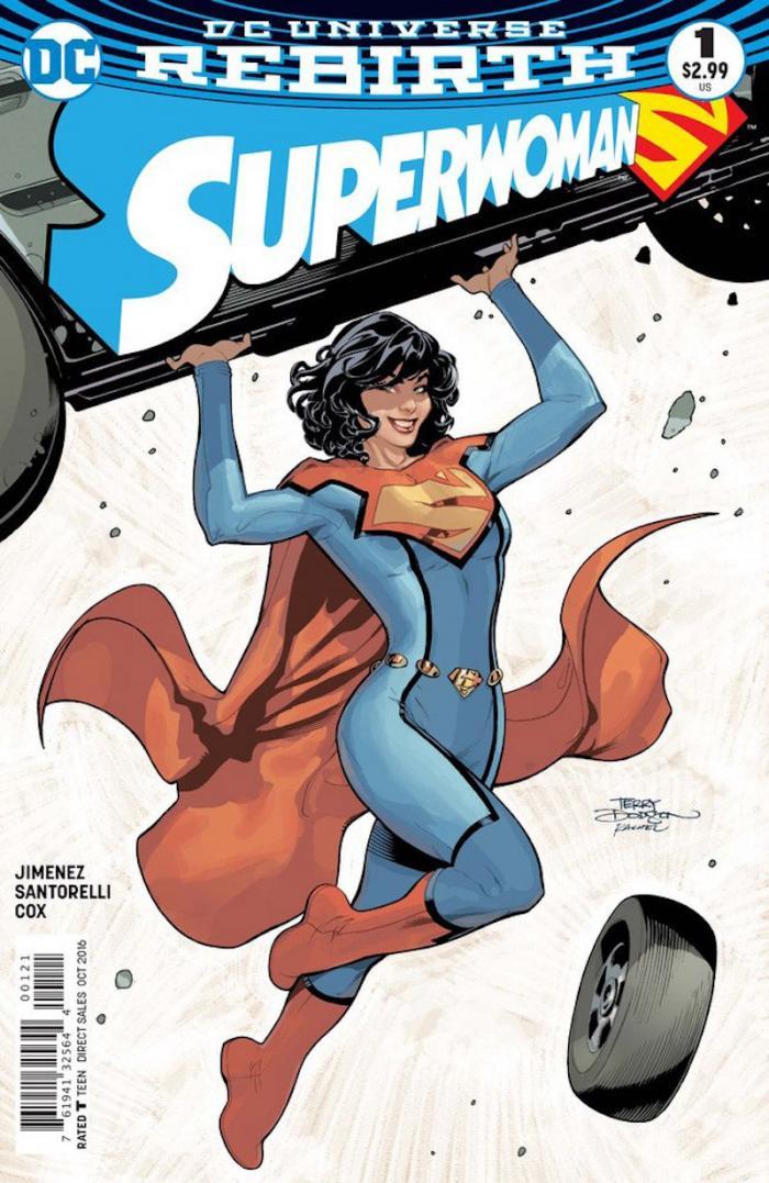 Superwoman #1 art by Terry Dodson