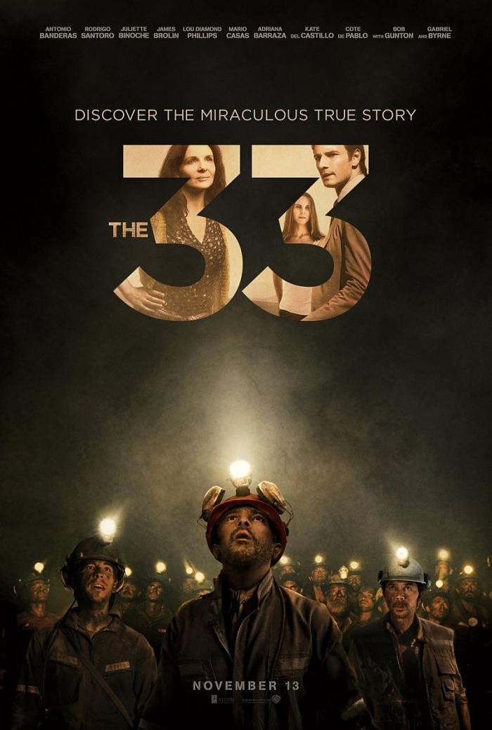 THE 33 opens in theaters on 11/13/15.