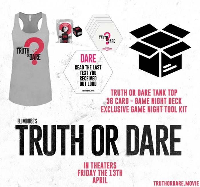 Truth or Dare contest