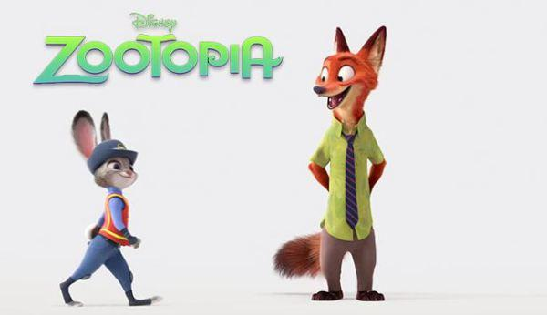 ZOOTOPIA opens everywhere on March 4, 2016.
