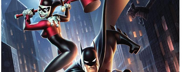 Batman and Harley Quinn DVD