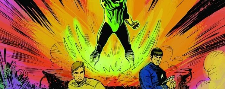 Star Trek Green Lantern Stranger Worlds #5