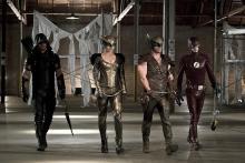 Arrow Legends of Yesterday Hawkman Hawgirl Flash