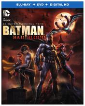 Batman Bad Blood Justice League Blu-ray DC Comics Animated