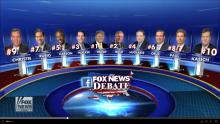 Fox News FNC Facebook GOP Republican Debate