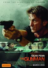 """The Gunman"" starring Sean Penn opens March 20, 2015."
