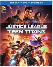 Justice League vs Teen Titans Blu-ray Warner Brothers DC Entertainment
