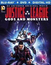 Justice League Gods and Monsters Blu-ray Warner Brothers DC Comics Critical Blast