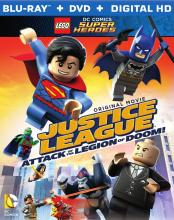 Justice League Legion of Doom LEGO Blu-ray DVD Critical Blast