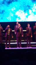 Straight No Chaser at the Fox Theatre, St. Louis 12/11/14 Photo by Jeff Ritter