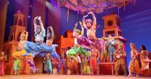 "The excellent ensemble cast of Disney's ""Aladdin"" playing at the Fox Theatre Nov 7-25, 2018. Photo Credit: The Fabulous Fox Theatre"