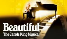 Beautiful: The Carole King Musical runs 3/12/19 to 3/17/19 at The Fabulous Fox Theatre.