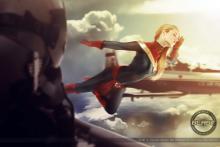 Captain Marvel Salutes - Florencia Sophen
