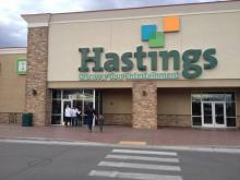 Hastings going out of business