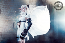 Lady Zero as Zero from Drakengard 3