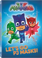Let's Go PJ Masks! on DVD