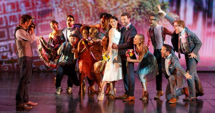 The Cast of IF/THEN. Photo Credit: www.FabulousFox.com