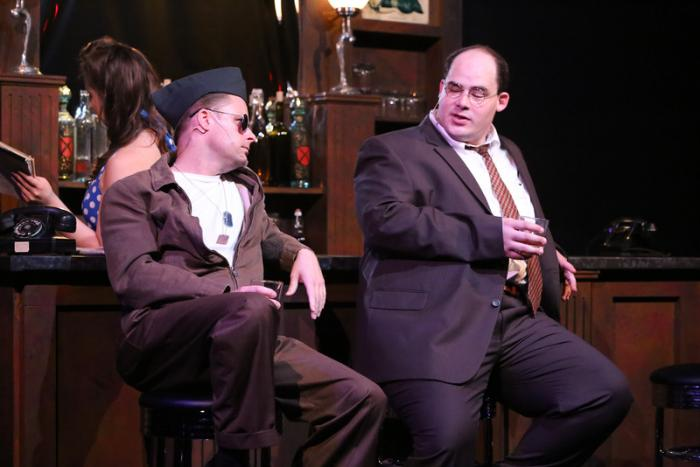 Jeffrey M. Wright and Zachary Allen Farmer in New Line Theatre's ATOMIC. Photo Credit Jill Ritter Lindberg