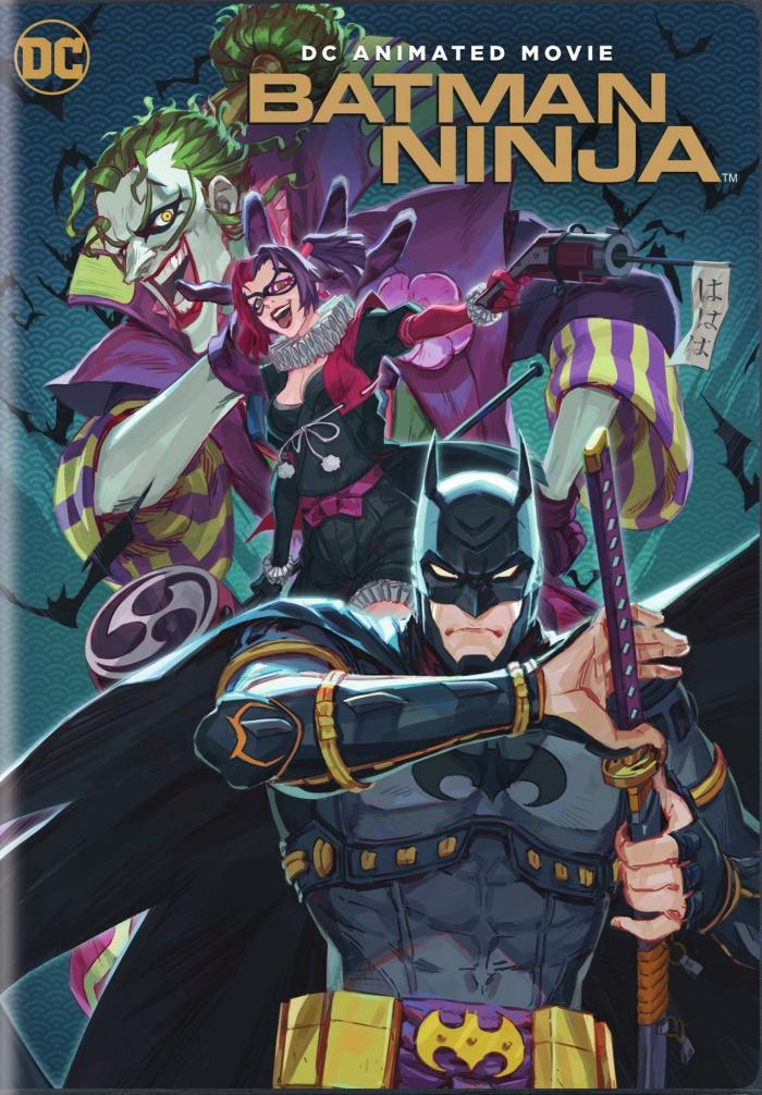 Batman Ninja DVD