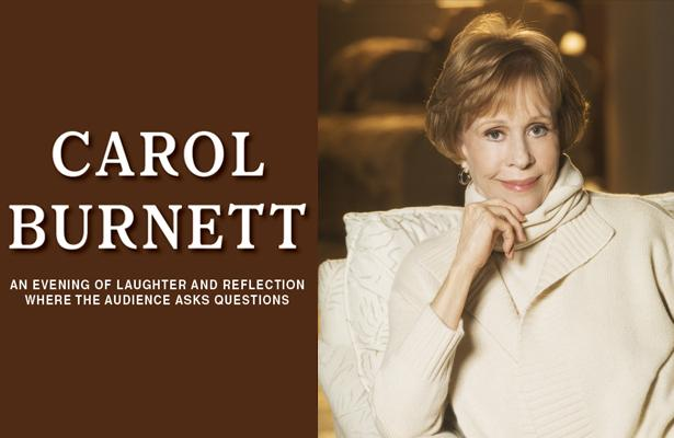 Carol Burnett was live at the Stiefel Theatre in St. Louis Nov. 8, 2018.