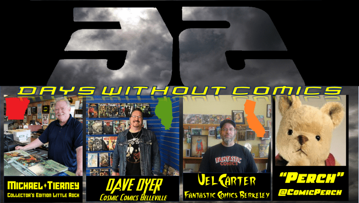 32 Days Without Comics