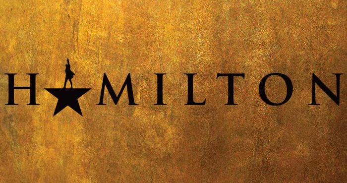 "The national tour of ""Hamilton""  plays the Fabulous fox Theater April 3 -- 22."
