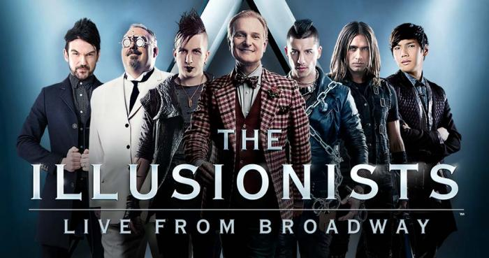 THE ILLUSIONISTS: LIVE FROM BROADWAY, at the Fox Theatre in St. Louis Mar 31 - Apr 2.