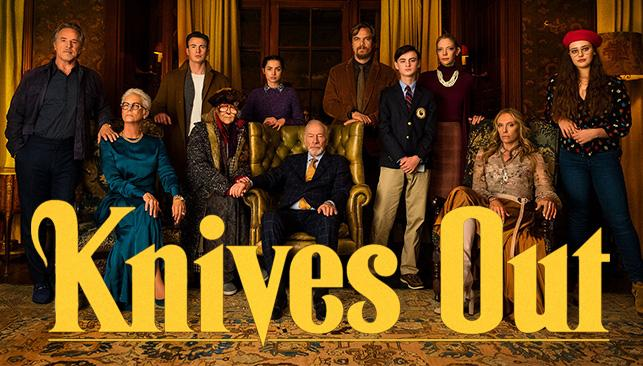 Rian Johnson's Knives Out opens in theaters on Wednesday, Nov 27, 2019. What better way to wait for your turkey to thaw?
