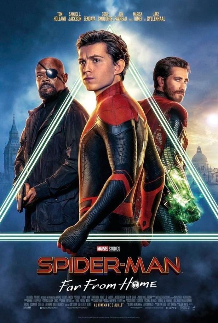 Spider-Man Far From Home starts July 2, 2019