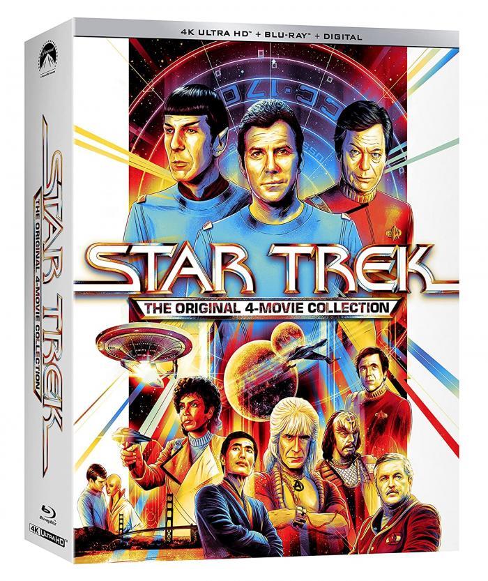 Star Trek 4 Movie Collection