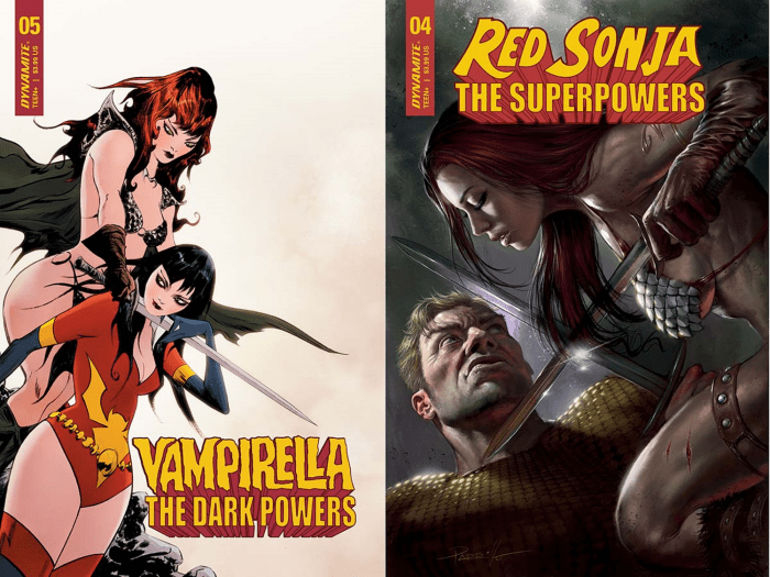 Vampirella Red Sonja Project Superpowers