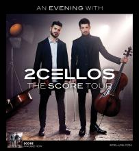 2CELLOS The Score Tour played the Fox Theatre 1/29/18.