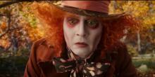 Alice Through Looking Glass Disney Tim Burton