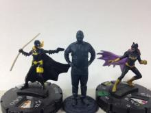 3D Printed RJ Carter with HeroClix Batgirls for scale.