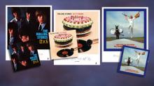 Rolling Stones Lithograph Vinyl Time-Life SpotlightGallery