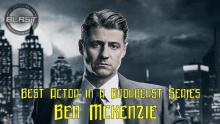 Ben McKenzie Best Series Actor 2019