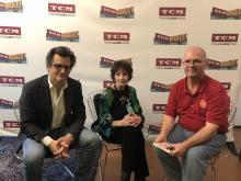 Ben Mankiewicz and Margaret O'Brien for TCM in St. Louis