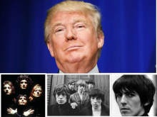 Donald Trump, Queen, Rolling Stones, George Harrison